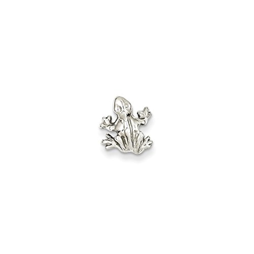 Solid Gold Frog - ICE CARATS 14kt White Gold Solid 3 Dimensional Frog Pendant Charm Necklace Animal Fine Jewelry Ideal Gifts For Women Gift Set From Heart