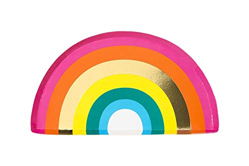 Pride Parade Pride Rainbow Paper Plates Party Plates Shaped Plates Disposable Plates 7