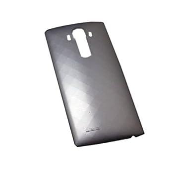 SOMEFUN Tapa Bateria Trasera Espalda Cubierta Bateria Back Cover de Repuesto para LG G4 H815 H811 H810 VS986 VS999 US991 F500 LS991 Metallic Gris ...