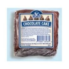 Ne Mos Chocolate Cake Square - 6 count per pack - 6 packs per case.