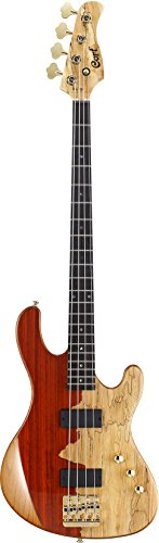 - Cort Jeff Berlin Series Rithimic Bass Guitar Natural Rosewood