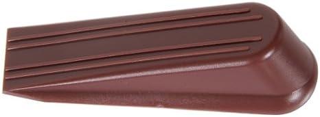 Hillman Hardware Essentials 851229 Floor Door Stops Wedges Brown 4-2 Pack