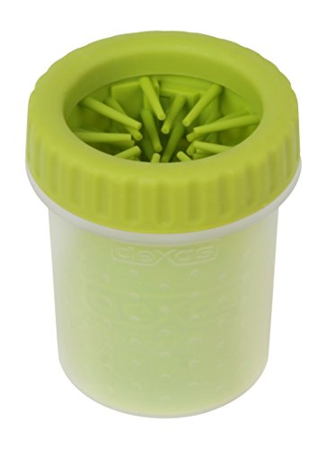 - Dexas MudBuster Portable Dog Paw Cleaner, Small, Green