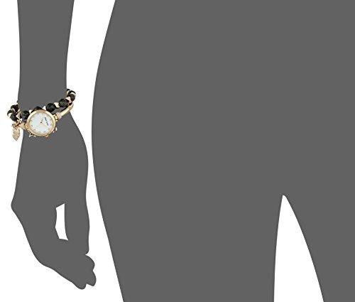 Anne Klein Women's AK/2840LBDT Swarovski Crystal Accented Gold-Tone Bangle Watch and Bracelet Set by Anne Klein (Image #4)'