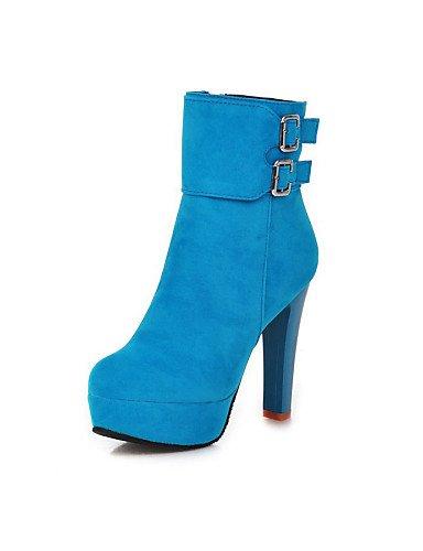 Vestido Botas Eu37 7 Moda 5 Sintético A Negro us7 Zapatos Black Uk4 Mujer Punta Redonda 5 Cn37 azul Stiletto La 5 rojo Black botas Ante 5 Cn38 5 De us6 Tacón Xzz Uk5 Eu38 qO1wB6B
