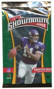 2002 NFL Showdown Booster Pack 1st Edition