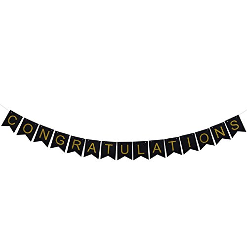 Congratulations Graduate Photo Banner - CONGRATULATIONS Banners 2018 Pennant Flags Garland Photo Props for Graduation Party Favors
