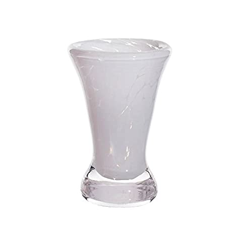 Amazon.com: Jarrón de cristal exclusivo de Cristaica, flor ...