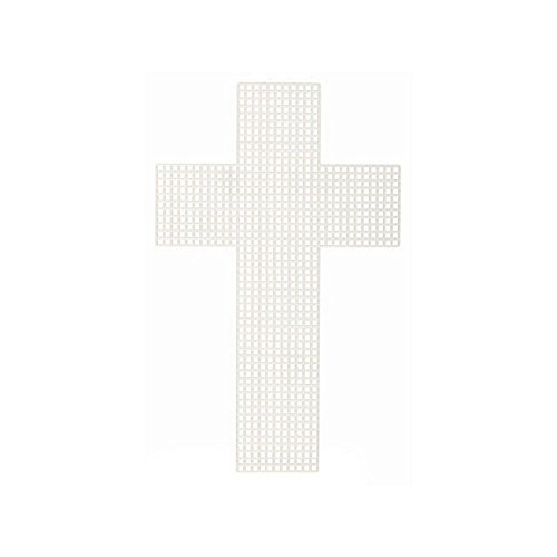 Plastic Canvas Cross (Cross-Shaped Plastic Canvas - 3 inches (10 Pieces/Pack))