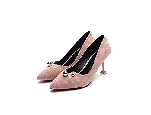 Shoe Toe Pumps Pink Dress Women Party High Heels Sexy Pointy w1xq87RX