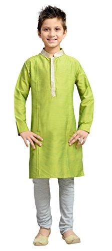 Cellora Churidar Kurta Pajama for 1-14 Years Kids Dupion Silk Party Wear Ethnic Dress by Cellora