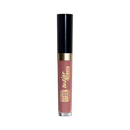 COVERGIRL Queen Collection Major Shade Matte Liquid Lipstick, Insider, 0.11 Pound (packaging may vary)