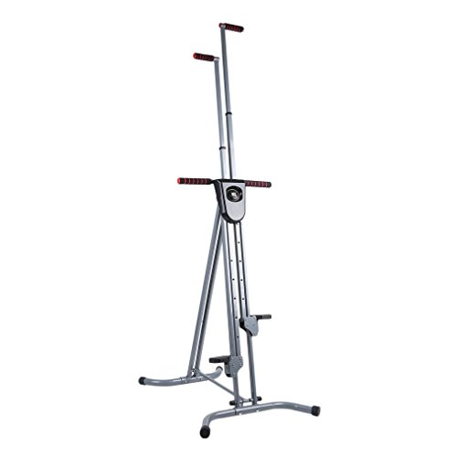 Homgrace Foldable Vertical Climber Cardio Exercise Full Body Fitness Workout for Home GYM (Dark Grey) by Homgrace