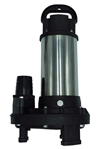 Piranha 4,200 GPH Direct Drive Submersible Pump - Up To 4,200 GPH Max Flow
