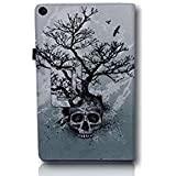 Kindle Fire HD 10 Cover/Case (2017 Model) Bundle (Skull)