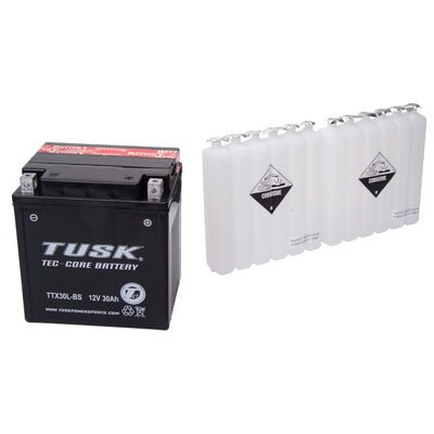 Tusk Tec-Core Battery with Acid TTX30L-BS Maintenance-Free -Fits: Arctic Cat PROWLER 1000 XT 2015