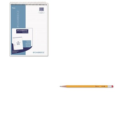 KITMEA59006UNV55400 - Value Kit - Mead Wirebound Numbered Legal Pad (MEA59006) and Universal Economy Woodcase Pencil (Wirebound Numbered Legal Pad)