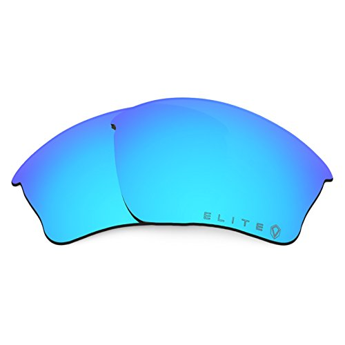 Revant Replacement Lenses for Oakley Half Jacket XLJ Polarized Elite Kiwanda Blue MirrorShield