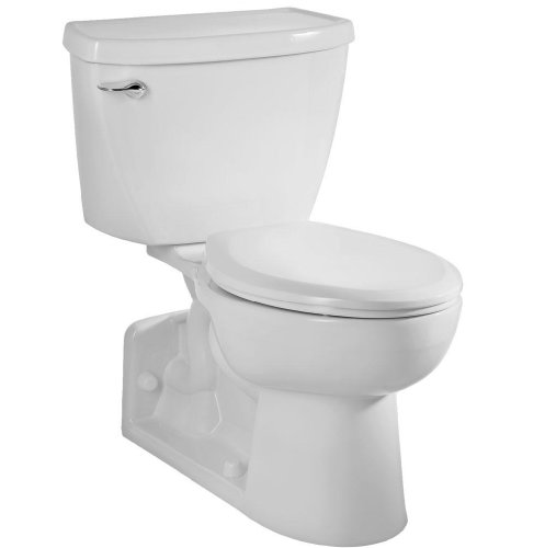 American Standard 2876.016.020 Yorkville Pressure-Assisted Elongated Toilet, White by American Standard