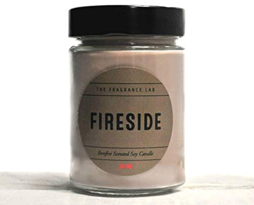 Soy Candle -Fireside Bonfire Scented Candle | The Fragrance Lab