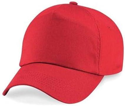 Hats of London Children Unisex 5 Panel Baseball Cap 100/% Cotton with Velcro Adjuster.