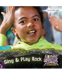 Cave Quest Sing & Play Music CD by Group Publishing