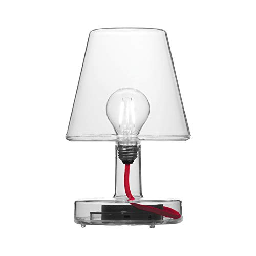 Fatboy Transloetje Lamp Rechargeable Portable LED Table light, Transparent