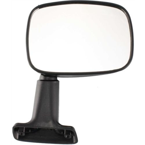 Make Auto Parts Manufacturing - 1984-1986 Toyota Pickup Passenger Side Mirror - Passengers Manual Side View Mirror Replacement for Toyota SUV Pickup Truck - Partslink Number TO1321106