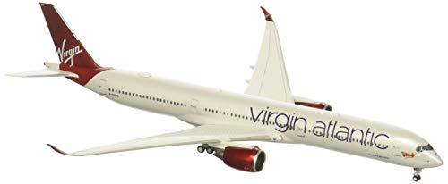 GeminiJets Virgin Atlantic 1:400 Scale Diecast Model Airplane, White