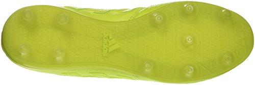 adidas Men's Gloro 16.1 Fg Football Boots, White Yellow (Solar Yellow/Solar Yellow/Solar Yellow)