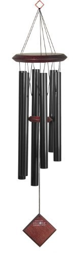 Woodstock Encore Collection Black Chimes of Pluto Windchime Color: Black Outdoor, Home, Garden, Supply, Maintenance