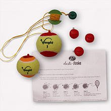 Vaught Sports Elasti-Stroke Training Tennis Set, 2 Ball