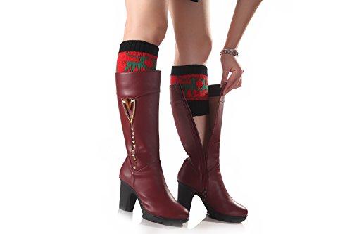Leggings cortos Mujer Gaiter Patr Acvip ERqZBxnZa