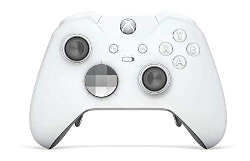 White Edition Rapid Fire Custom Modded Controller Compatible with Xbox One Elite 40 Mods for All Major Shooter Games, Quick Scope, Auto Run, Sniper Breath, Jump Shot, Active Reload & More (Xbox One Master Mod Controller)