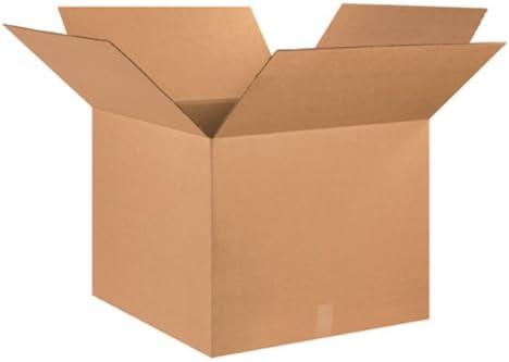 Aviditi 252520 corrugado caja, 25 cm de largo x 25 cm de ancho x ...