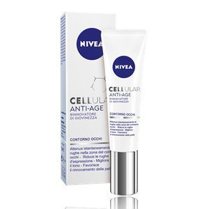 Nivea Cellular Anti-Age Eye Cream 15ml [European Import] - 2 Count by - Overseas Shipping Rate Flat