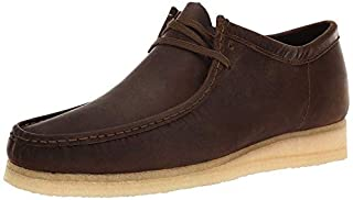 CLARKS - Mens Wallabee Shoe, Size: 9.5 D(M) US, Color: Chestnut Leather (B07762YPRS) | Amazon price tracker / tracking, Amazon price history charts, Amazon price watches, Amazon price drop alerts