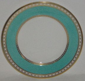 Wedgwood Ulander Powder Turquoise Bread & Butter Plate - Wedgwood Ulander Powder