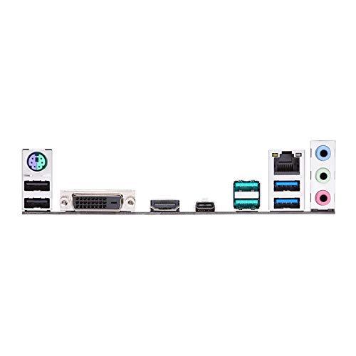 Asus PRIME B450-PLUS Scheda Madre AMD AM4 ATX con Connettore Aura Sync RGB, DDR4 3200MHz, M.2, HDMI 2.0b, SATA 6Gbps e USB 3.1 Gen 2, Nero