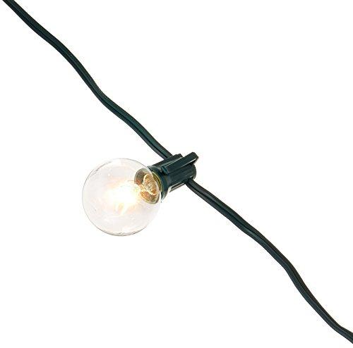 25 ft. Indoor/Outdoor Weatherproof Party String Lights wi...