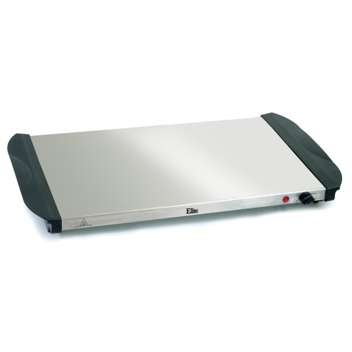 Elite Platinum Ewm 6171 Maxi Matic 2 5 Quart 3 Tray Buffet