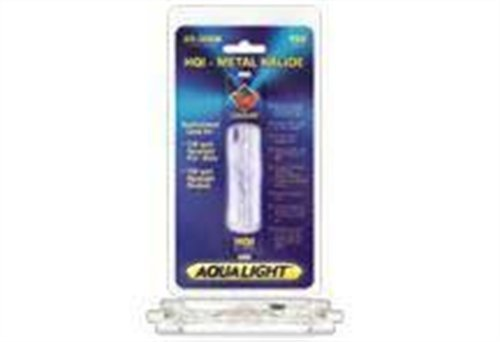Coralife Metal - Coralife 05440 HQI Double Ended Metal Halide Lamp, 150-Watt, 20K