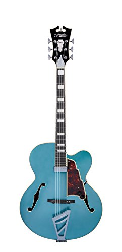 D'Angelico Premier EXL-1 Hollow-Body Electric Guitar w/Stairstep Tailpiece – Ocean Turquoise