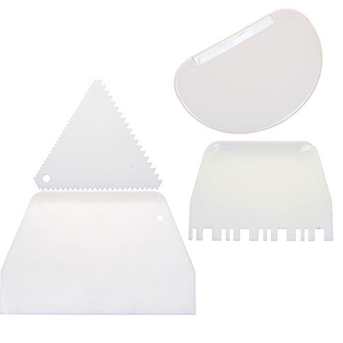 COSMOS Plastic Decorating Scraper Smoother