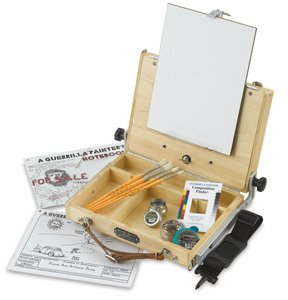 - Guerrilla Painter French Resistance Oil and Acrylic Plein Air Kit, Medium