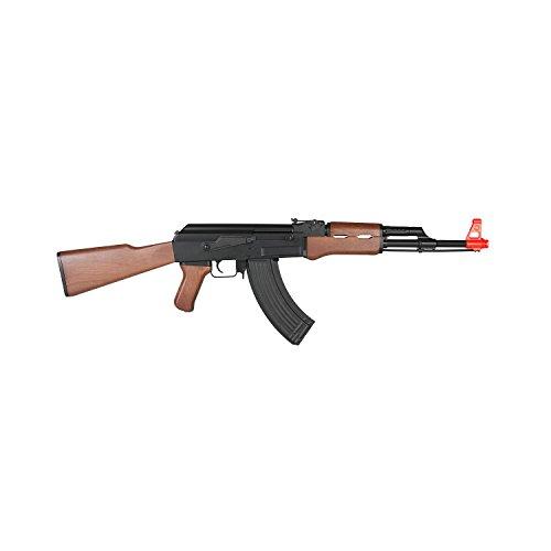Lancer Tactical LT-16D AK-47 Airsoft Rifle AEG Metal Gear 415-FPS – Wood Review