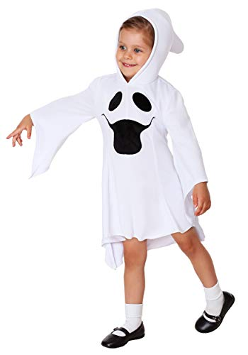 Ghost Costumes For Toddlers (Girls Gorgeous Ghost Toddler Costume 4T)