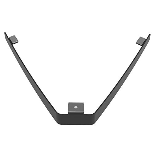 WALI Floating Wall Mounted Shelf V-Shape Bracket for DVD Player, Cable Box, Games Consoles, and Other TV Accessories (CS01BR), ()