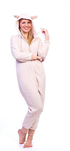 Ragstock Women's Onesie Pajamas (X-Large, Sheep_0195)]()