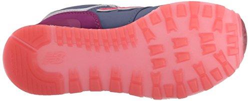New Balance 574 Scarpe Bambina Ragazza KL574DYP Sneaker i Bluette Fucsia